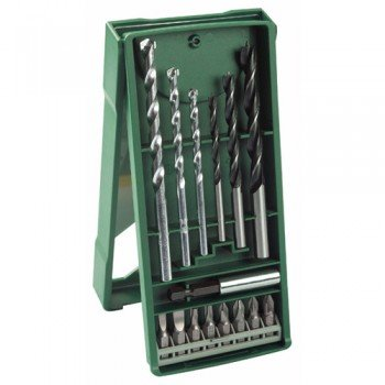 Bosch 15 Piece Mixed Mini X-Line Drill/Driving Set (194 x 83 x 2