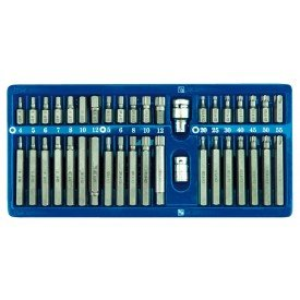 Screwdriver bit set c.v 66400