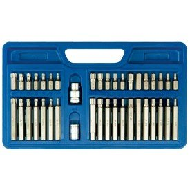 Screwdriver bit set c.v 66410