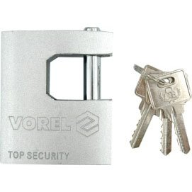 Alloy covered iron lock 77240