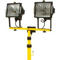Dual halogen projectors on tripod 82787