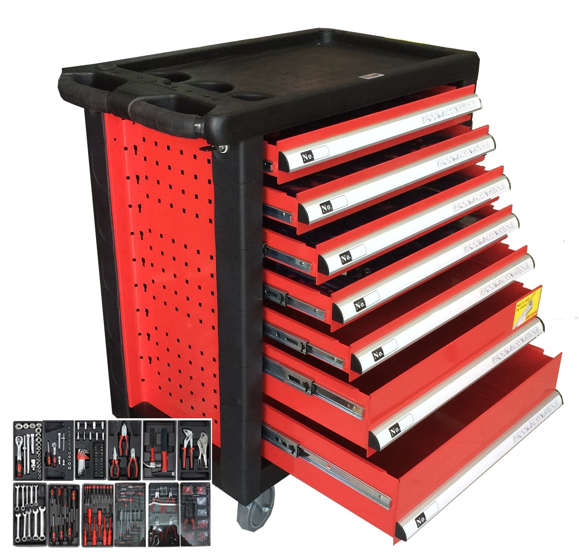 Tool Cabinet with 142 pieces Hand Tools