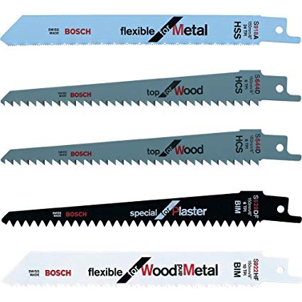 Bosch Keo Replacement Blades Set with 5 pcs