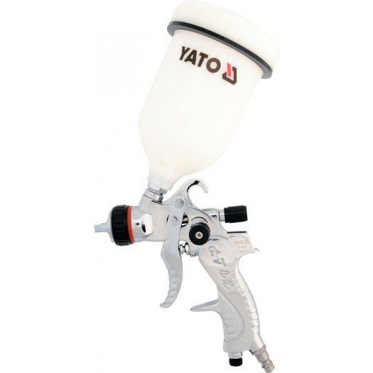 Spray gun with fluid cup, hvlp 0.6l, 1.4 mm  YT-2340