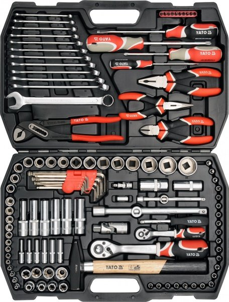 ec90eb6e2f5 122 Pcs Socket Tool Set 1 2